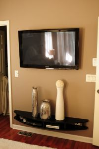 17 Best ideas about Mounted Tv Decor on Pinterest