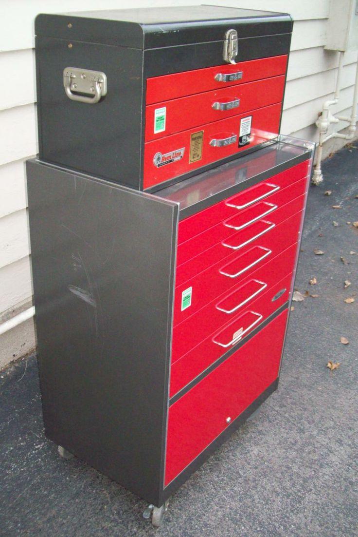 PowrKraft  Vintage  Unusual Tool BoxesCabinets  Pinterest