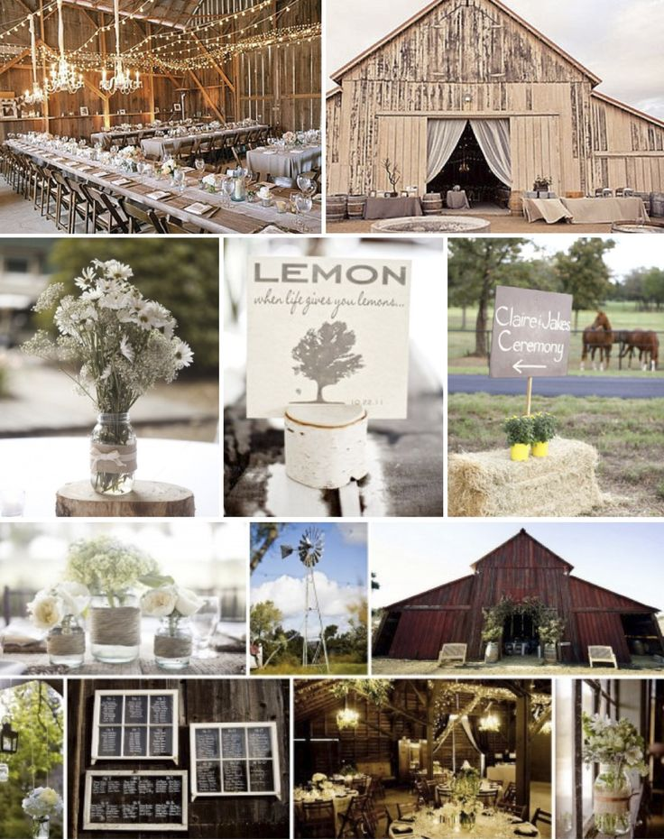 Western Wedding Reception Decorations  Rustic WesternVintage Wedding Inspiration