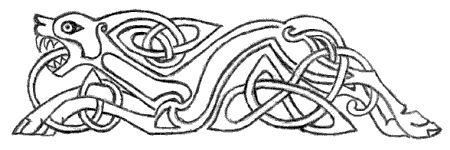 Norse Wolf Symbol Trees for Life Mythology and Folklore