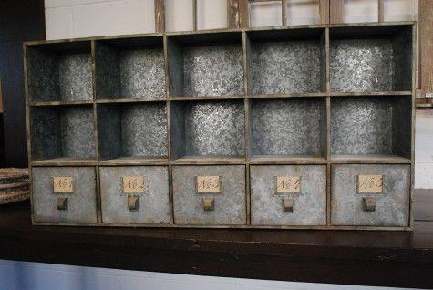 kitchen cabinet inserts ideas triangle cabinets wonderful vintage zinc storage unit. | my future house ...