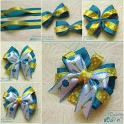 1000 ideas ribbon bow tutorial