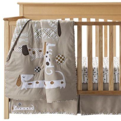 Dachshund Nursery bedding set  Nanas Sweetheart  Pinterest  Weenie dogs Plays and Nursery