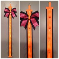 Cheer Bow Holder Neon Orange | Cheer, Ribbon holders and ...