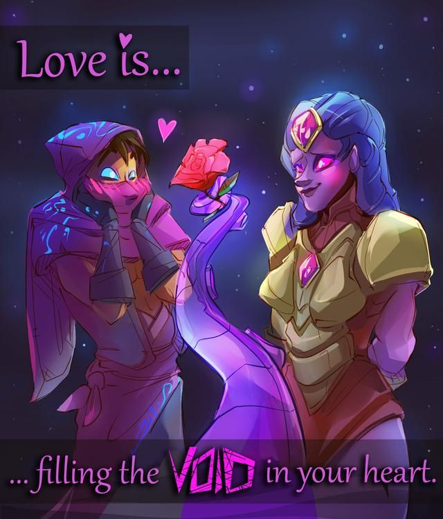 Love Isfilling The VOID In Your Heart By Rocket Baby Doll IR3KTgaming News Pinterest