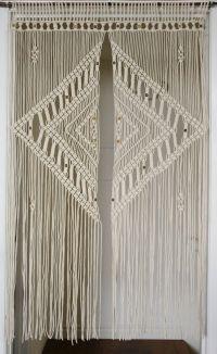 9 DIY Patterns for Macram Curtains | Inhabit Zone