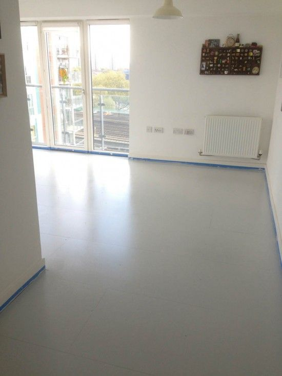 Painting an MDF floor wwwapartmentapothecarycom