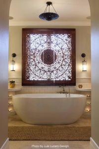 Best 25+ Bathroom window coverings ideas on Pinterest