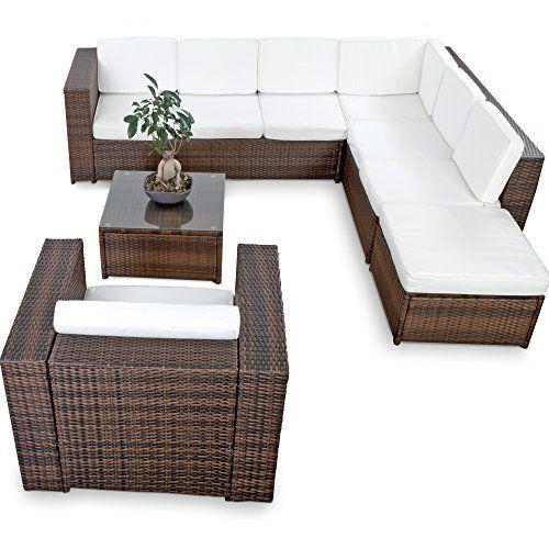 xinro tlg xxxl polyrattan gartenmobel lounge sofa gunstig lounge, Garten und erstellen