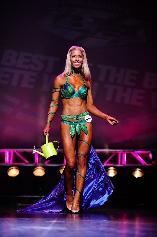 2011 WBFF Worlds Theme Wear Flower Not Bloomed My