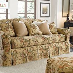 Slipcover For Sofa Cushions Separate 0 Sofas Bridgewater Floral By Waverly™ Seat Slipcovers ...