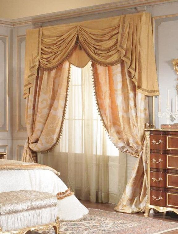 Swags Amp Tails Curtain Treatment Traditional Window