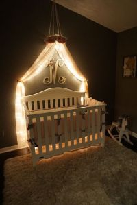 25+ best ideas about Bed canopy with lights on Pinterest ...