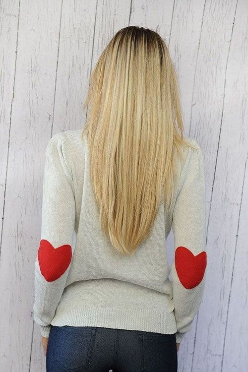 Sweet Heart Sweater from Mod Cloth…great for Valentines Day