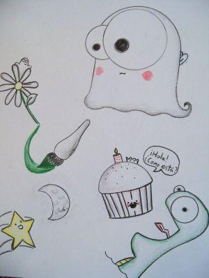 doodles simple random doodle drawings kawaii weird deviantart draw drawing google class monster login zentangle