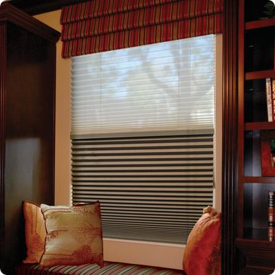 DayNight Cellular Shades Options Simple Fit Blackout Shades Renovation Products