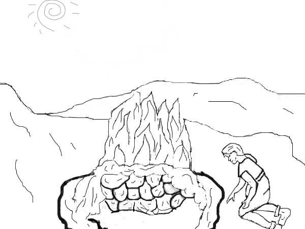 Elijah And Ahab Coloring Pages Coloring Pages