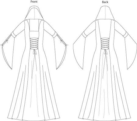 Best 20+ Medieval dress pattern ideas on Pinterest