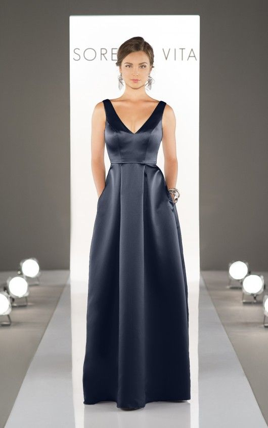 25+ best ideas about Satin Bridesmaid Dresses on Pinterest