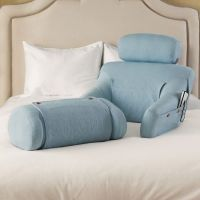The BedLounge in a beautiful light blue color. Sold