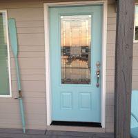 Front door Behr Ocean Boulevard | Our Home (It Floats ...