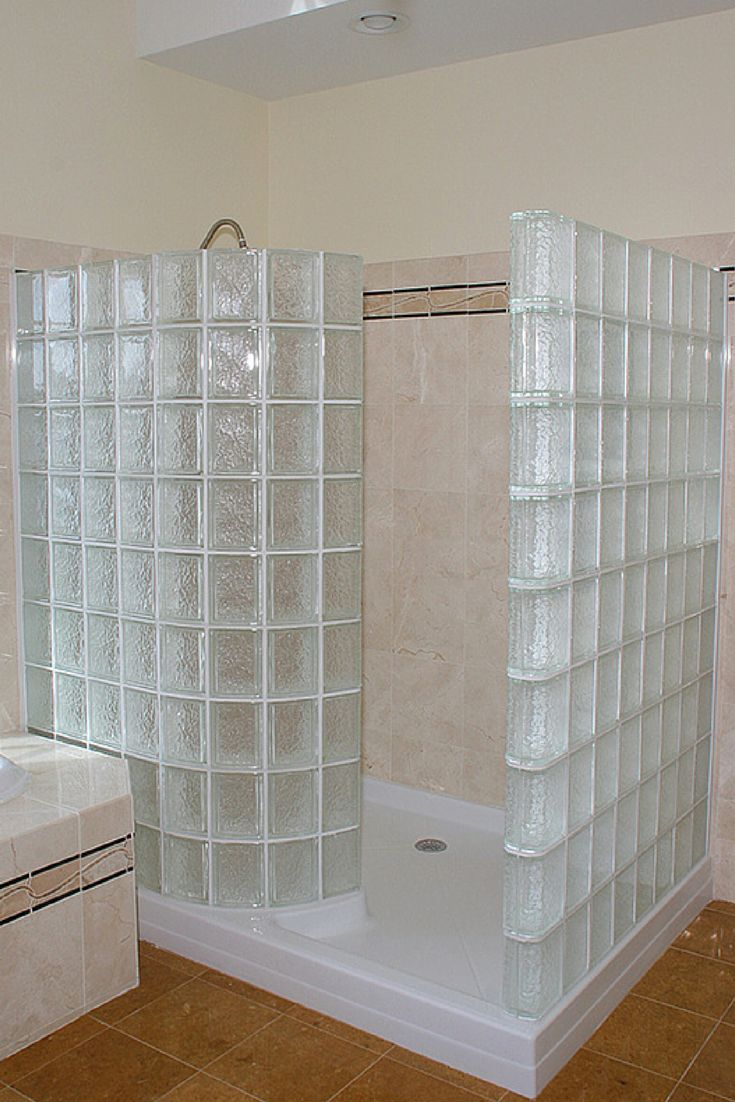 17 Best Images About Glass Block Showers On Pinterest Curved Glass Glasses And Shower Base