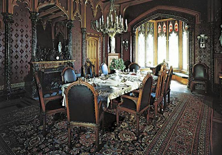 17 Best images about Gothic Interior Design Ideas on Pinterest  Black chairs Dining rooms and Blog