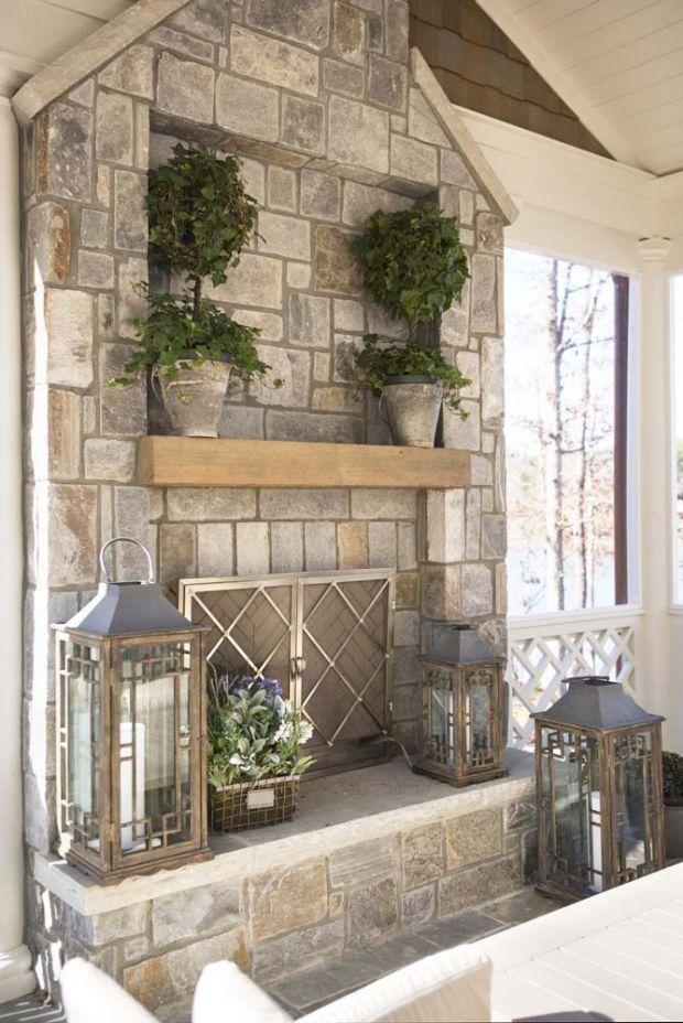 outdoor fireplace….yep pu