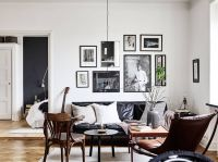 25+ Best Ideas about Black Leather Sofas on Pinterest ...