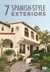 spanish exterior paint colors modern homes mediterranean revival behr architecture designs stucco colonial painting update exteriors houses inspiration trim should