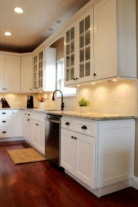 25+ best ideas about White shaker kitchen cabinets on ...