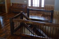 17 Best ideas about Wood Railing on Pinterest