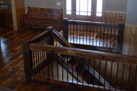 reclaimed wood railings | railing reclaimed wood stair ...