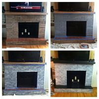 17 Best images about Fireplace on Pinterest | Painted ...