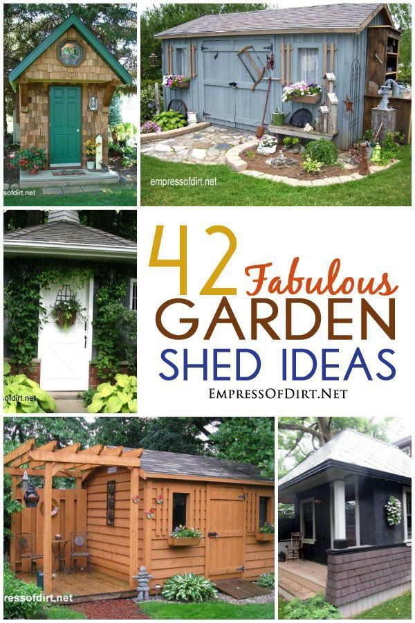 17 Best Images About GARDEN Sheds & Greenhouses ♥ On Pinterest