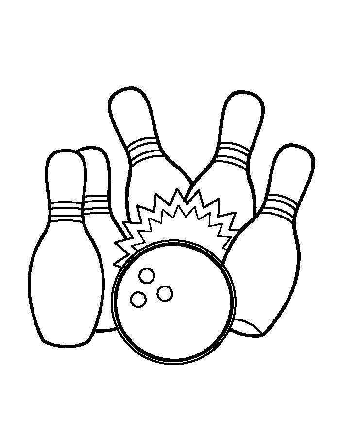 Bowling Bilder Zum Ausdrucken Kostenlos - Ausmalbilder