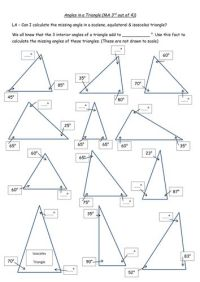 25+ Best Ideas about Triangle Angles on Pinterest