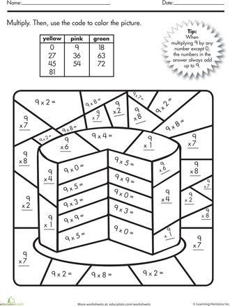 17+ images about Multiplication Worksheet on Pinterest