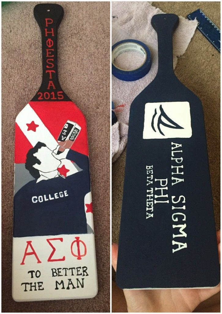 74 Best Images About Fraternity Paddles On Pinterest