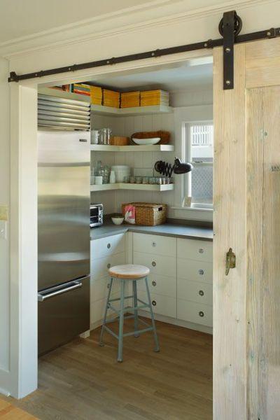 sliding barn door kitchen pantry 17 Best ideas about Kitchen Sliding Doors on Pinterest