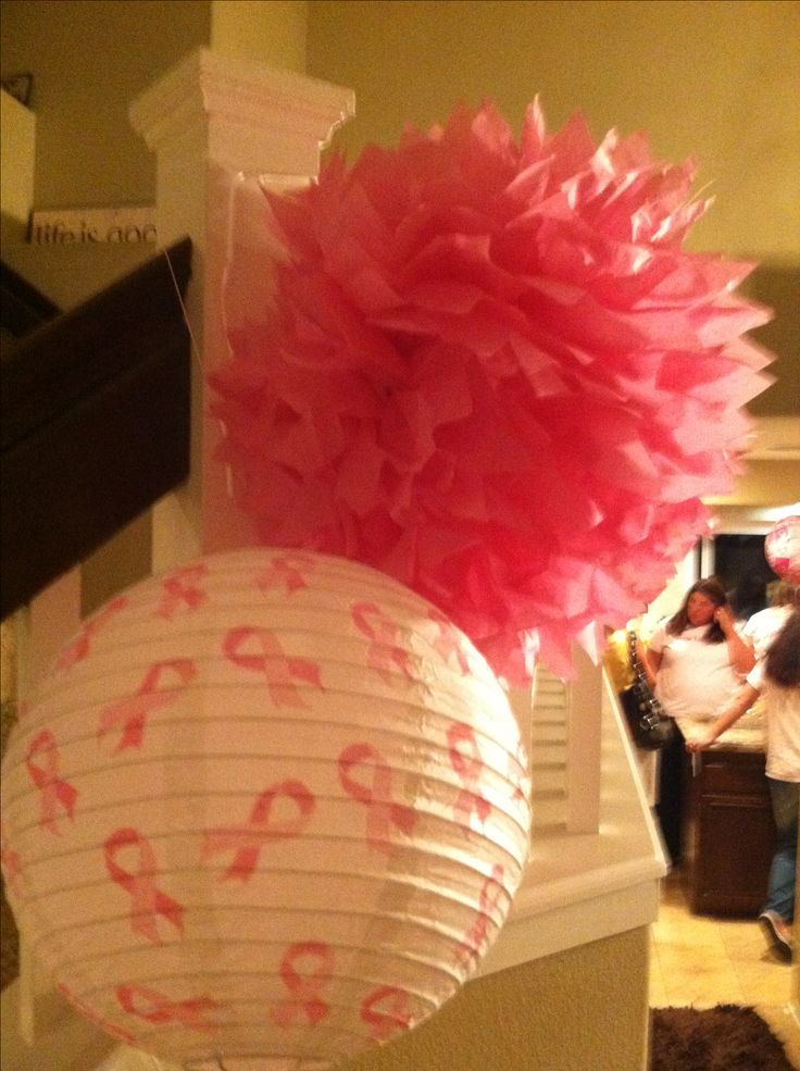 Breast Cancer Party Decor Ideas StandUp2Cancer