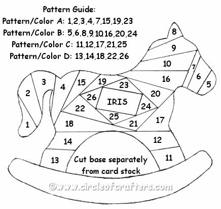 17 Best images about Iris Folding Patterns on Pinterest