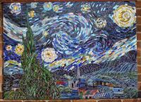 Image result for mosaic tile pattern starry night | Mosaic ...