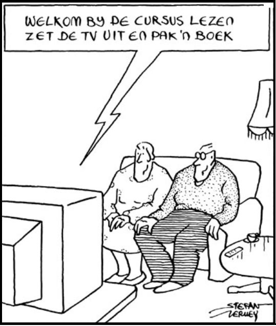 443 best images about Cartoons over boeken en lezen on