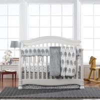 17 Best ideas about Elephant Crib Bedding on Pinterest ...