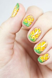 17 Best images about Pineapple nails on Pinterest | Nail ...