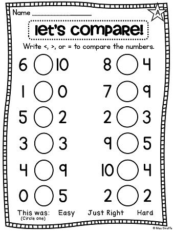Best 25+ Comparing Numbers ideas on Pinterest