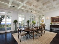 Coffered Ceiling seem a little busy but LOVE the French ...