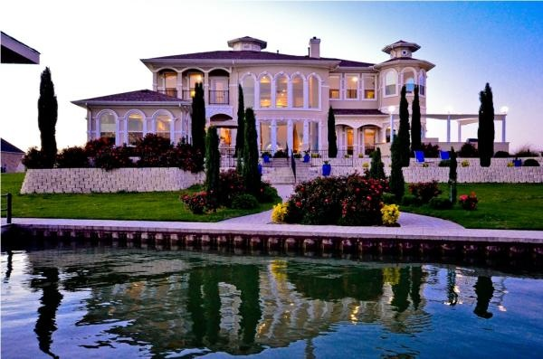 Magnificent Waterfront Mediterranean Home for sale on