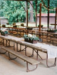 25+ best ideas about Picnic Table Wedding on Pinterest ...